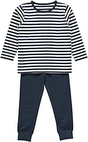 NAME IT Baby Boys' Nmmnightset Dress Blues Noos Pyjama Set,