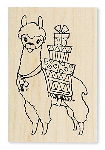 Unbekannt Stampendous Holz Stempel, Lama -
