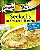 Knorr Fix für Seelachs in Kräuter - Dill - Rahm 35g