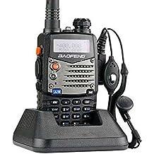 Baofeng UV-5RA walkie talkie 5W FM Radio VHF + UHF DTMF VOX banda dual de doble frecuencia Dos auricular Via Radio Free