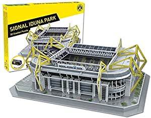 bvb 09 borussia dortmund 3d stadionpuzzle puzzle stadion signal iduna park garten. Black Bedroom Furniture Sets. Home Design Ideas