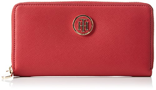 tommy-hilfigerhoney-large-z-a-wallet-portafogli-donna-rosso-rot-scooter-red-603-603-19x10x2-cm-b-x-h