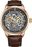 Stuhrling Original Executive - Reloj para Hombre Color Gris/marrón