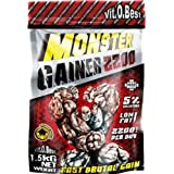 Vit-O-Best Monster Gainer 2200, Suplementos Alimentarios para Deportistas, Sabor a Chocolate - 1500 gr