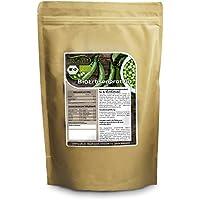 Nurafit Protéine de pois BIO | Superaliment organique | 80% de protéines végétales | tous les acides aminés essentiels | qualité supérieure certifié selon la norme DE-001-ÖKÖ (500g)