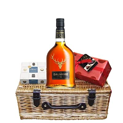 Dalmore 12 Year Old and Chocolates Hamper