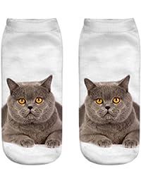 3D Printed Tier Women Casual Socken nette-Katze neue