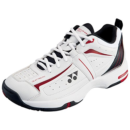 Yonex SHT Soft Tennis Shoes, Size- 12.5 UK (White/Black)  available at amazon for Rs.3788