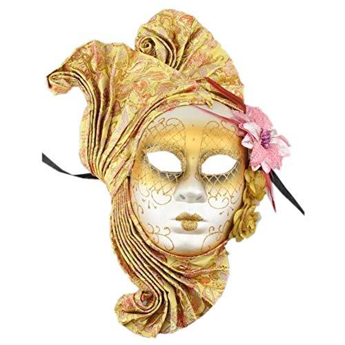 Zluna Womens Venezianische Masken Maskerade Maske Halloween Kostüm -