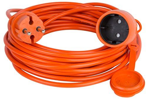 garten kabel Verlängerungskabel Verlängerung Strom-Kabel Garten ORANGE 10 15 20 25 30 40 50 m (30.0 Meter)