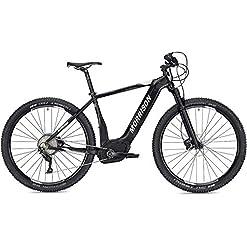 """MORRISON - Bicicletta elettrica MTB CREE 2, 29"""", 50 cm, Nero Opaco"""