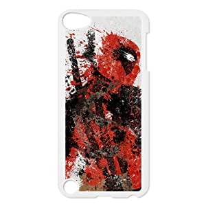 Housse ipod Touch 5 5th, Coque ipod touch 5 Anime, Deadpool, Plastic ipod Touch 5g Back Case Cover