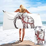 YUYUTE Badetuch, Maxresdefault Outdoors Microfiber Quick Dry Travel Towel,for Gym,Sports,Thin Lightweight,Shower Towels...