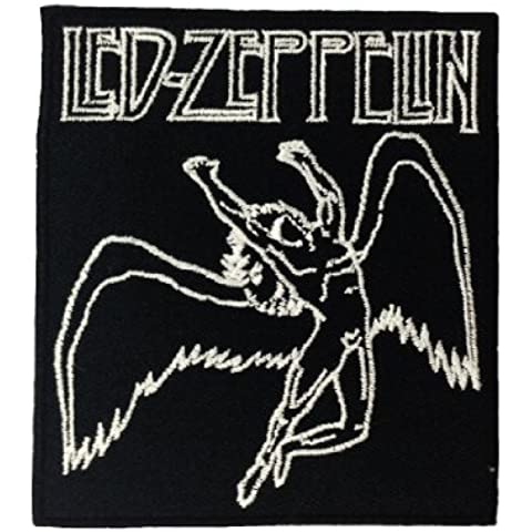 Led Zeppelin Music Band Logo II-Toppe da applicare con ferro da stiro