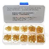 500Pcs Assorted Sharpened Fishing Hooks Circle Lures Baits - Best Reviews Guide