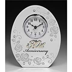 Idea Regalo - 30th Wedding Anniversary Clock. Perfect 30th Wedding Anniversary Gift by Teefas Gifts