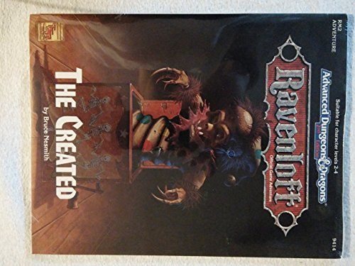 The Created (Advanced Dungeons & Dragons, Ravenloft) by Bruce Nesmith (1-Jun-1993) Paperback