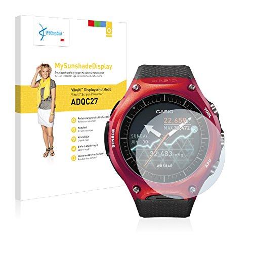 Vikuiti Displayschutzfolie ADQC27 von 3M für Casio WSD-F10 Schutzfolie Folie - Klar, Reflexmindernd