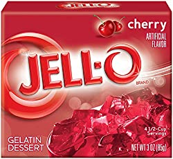 Jello Cherry 85g