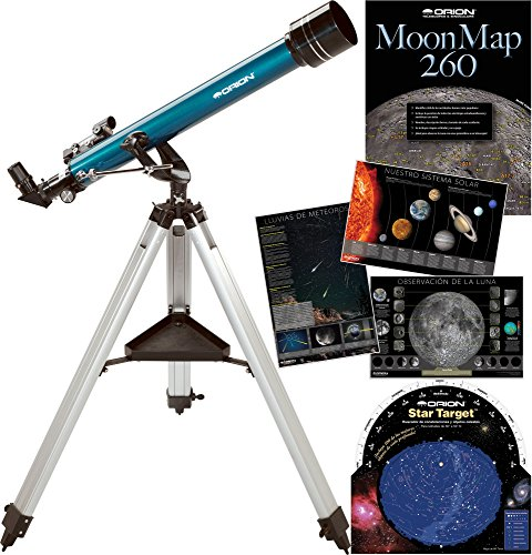 Kit de telescopio refractor Orion Observer AZ de 60 mm