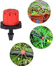 Ajustable 8salidas de agua Jardín de goteo Micro Spray pulverizador de riego boquilla