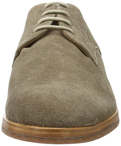 Hudson London Herren Enrico Suede 43 Oxfords Braun (Taupe)