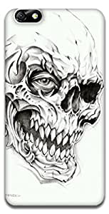 The Racoon Lean Skulls hard plastic printed back case / cover for Huawei Honor 4X