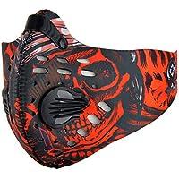 ZZG Máscara De Polvo Anti Contaminación PM2.5 Máscaras Lavables Mantenga Máscaras Calientes con 2