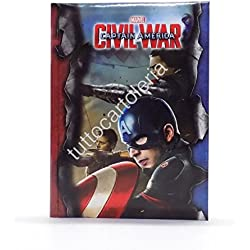 Agenda scolaire Captain America Civil War