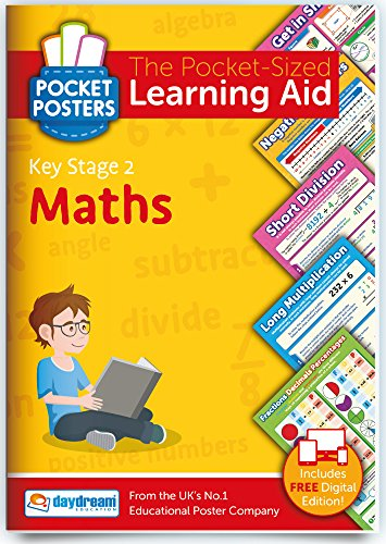 KS2 Maths Study Guide - Pocket Posters: The Pocket-Sized Revision Guide