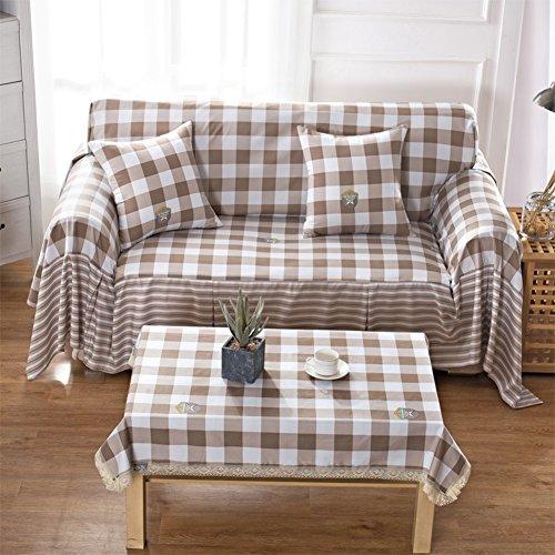 Europäischen stoff schonbezug sofa,Sofabezug für wohnzimmer Universelle sofa handtuch Alle Abdeckung Sofakissen Decken handtücher-P 79x118inch(200x300cm)
