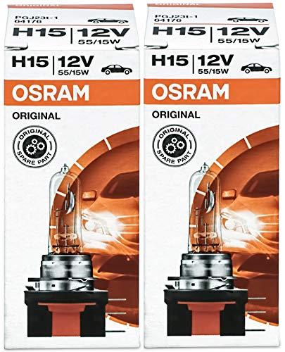 Osram Originale Line H15, 64176, 12 V Lampadine auto, macchina, proiettori alogeni, fari abbaglianti, fari anabbaglianti