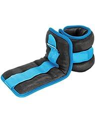 Reehut durable Cheville/poignet Poids (1paire) w/sangle réglable pour le fitness, exercice, marche, Jogging, gymnastique, aérobic, salle de sport (0,9kilogram 1,4kilogram 1,8kilogram 2,7kilogram 3,6kilogram)