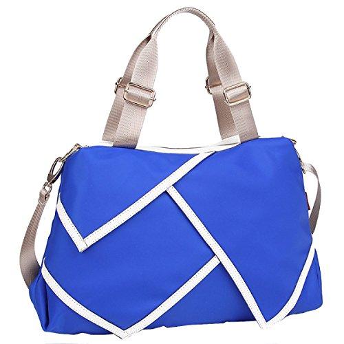 Mme Cross-package épaule Imperméable épaule Portables Multi-couleurs blue