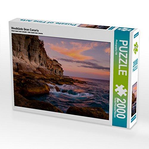 Preisvergleich Produktbild CALVENDO Puzzle Westküste Gran Canaria 2000 Teile Lege-Größe 90 x 67 cm Foto-Puzzle Bild von Photography PM