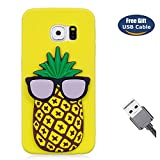 Aireratze, cover per Galaxy Note 8, pineapple, Samsung Galaxy S6 Edge