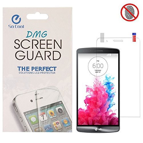 DMG SoCool Screen Protector for LG G3 Stylus D690 (Matte Anti Glare Anti FingerPrint Scratch Guard)  available at amazon for Rs.149