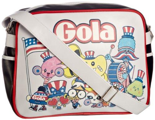 Gola NYC Parade Sporttasche Weiß / Blau / Rot