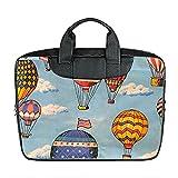 Benutzerdefinierte 15 Zoll importiert Nylon wasserdicht Stoff Laptop tragbare Schulter Messenger Bag Diy Hei?luftballon Design