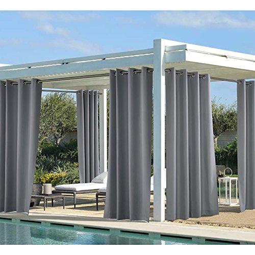 Outdoor Decor Outdoor Panel, grau, 127cm Breite, 213,4cm lang