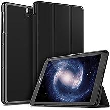 Samsung Galaxy Tab S3 9.7 Funda iBetter cubierta de cuero Estuches Fundas Carcasa para Samsung Galaxy Tab S3 9.7 Tablet (SM-T820 / T825 2017 Modell)-Negro