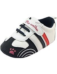 Amlaiworld_Primeros pasos Zapatos de Bebé, Zapatillas para Infantil Recién Niñas Niños 0-18 Mes