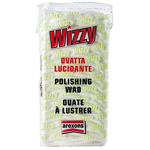 Arexons - Wizzy - Ouate à lustrer - Polissage pour carrosserie de voiture - Coton naturel