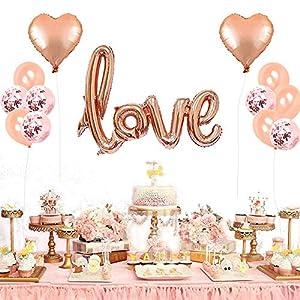 TOPTETN Decoración de San Valentín,Set