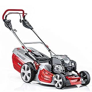 AL-KO Highline 477 VS Variable Speed Wheel Drive Petrol Lawnmower, Silver, 46 cm/18-Inch