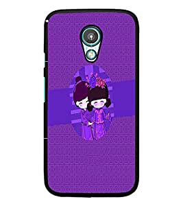 PrintDhaba Cartoon D-4234 Back Case Cover for MOTOROLA MOTO G2 (Multi-Coloured)