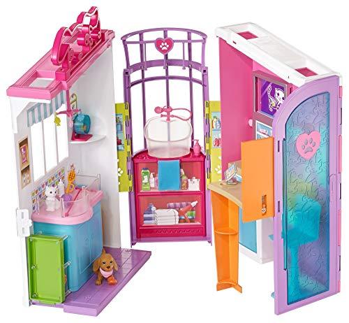 Barbie Clínica de Mascotas,, 94 x 40 cm (Mattel Spain FBR36)