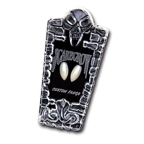 ustom Zähnen Große Fake Zähne Halloween für Fancy Kleid K Vogelscheuche Custom Vampirzähne groß ()