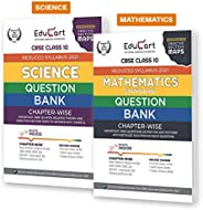 Educart Science And Maths Class 10 Question Bank Combo Pack For 2021 Exam (With Reduced Syllabus) (Set Of 2 Bo