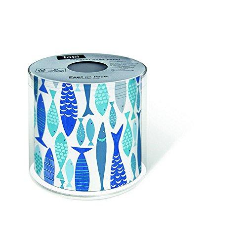 PAPER+DESIGN Toilettenpapier FSCMix 200 Bl. Soal of Fish
